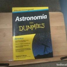 Libros: ASTRONOMÍA PARA DUMMIES. Lote 214254386