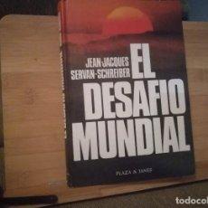 Libros: EL DESAFÍO MUNDIAL. Lote 215068045
