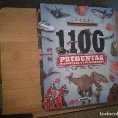 Livres: 1100 PREGUNTAS, RESPUESTAS Y CURIOSIDADES. Lote 215069765