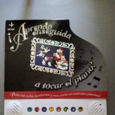 Libros: APRENDO ENSEGUIDA A TOCAR EL PIANO ED EDAF. Lote 216657711