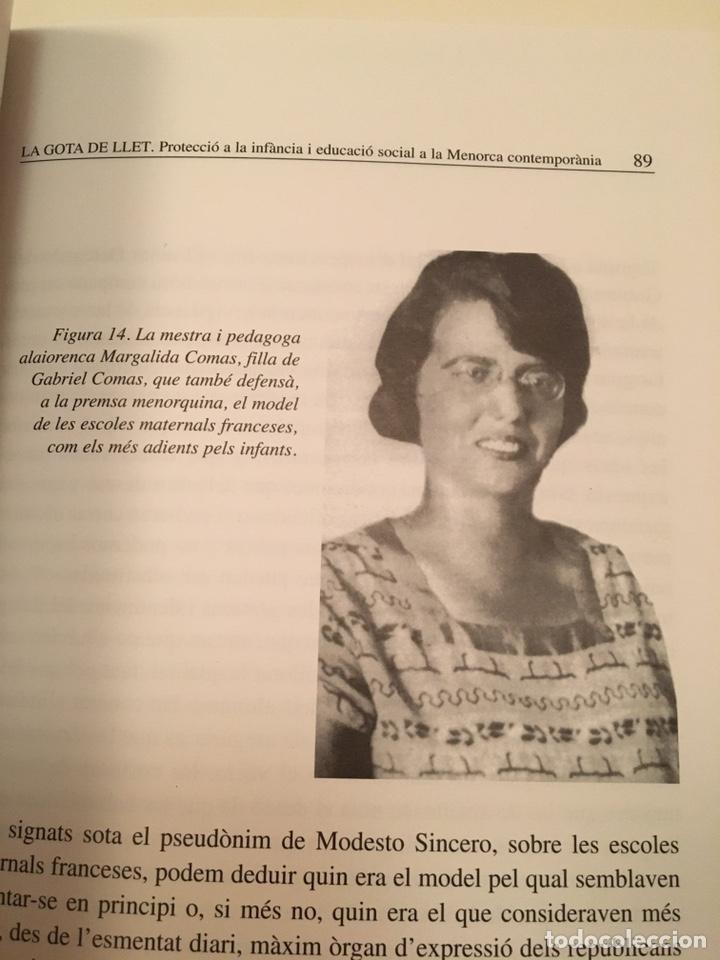 Libros: LA GOTA DE LLET: protecció de la infància i educació social a la Menorca contemporània - Foto 3 - 216743910