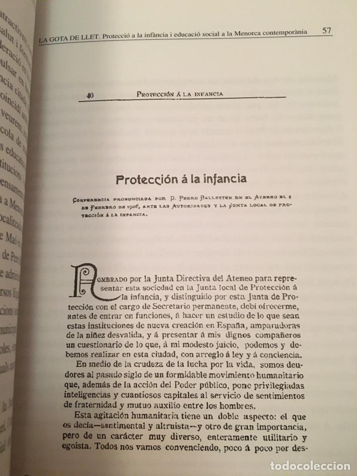Libros: LA GOTA DE LLET: protecció de la infància i educació social a la Menorca contemporània - Foto 4 - 216743910