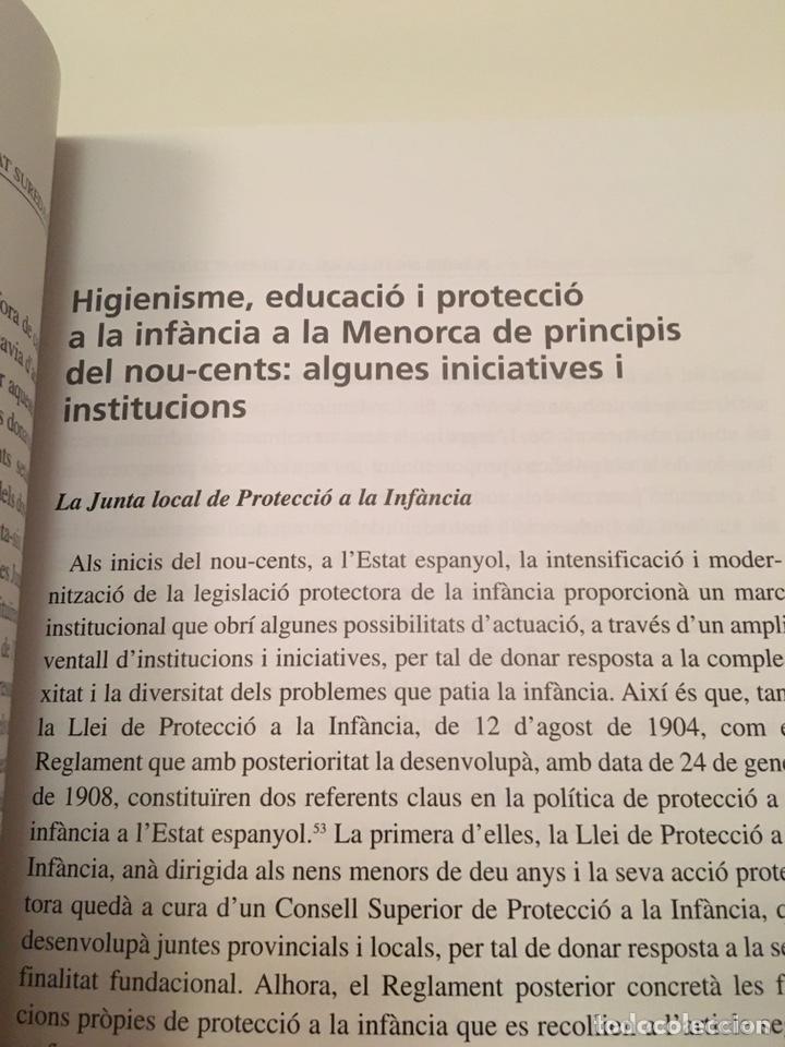 Libros: LA GOTA DE LLET: protecció de la infància i educació social a la Menorca contemporània - Foto 6 - 216743910