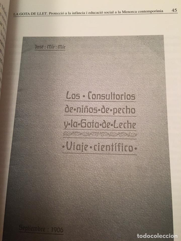 Libros: LA GOTA DE LLET: protecció de la infància i educació social a la Menorca contemporània - Foto 8 - 216743910