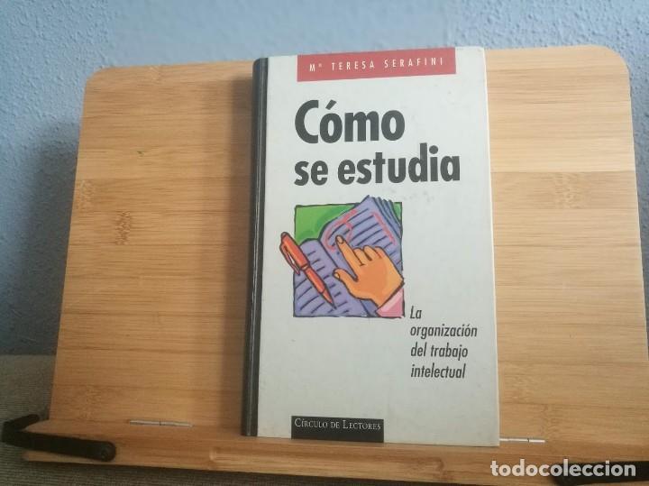 CÓMO SE ESTUDIA (Libros Nuevos - Educación - Aprendizaje)