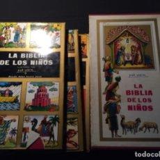 Libros: LA BIBLIA NIÑOS 3 TOMOS. Lote 217344075