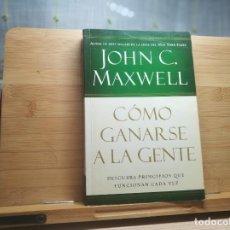 Libros: CÓMO GANARSE A LA GENTE. Lote 217435477