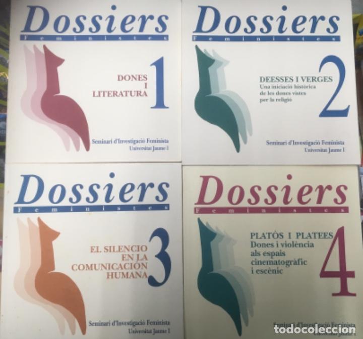 4 LIBROS - DOSSIERS FEMINISTES DEL Nº1 AL Nº4 (Libros Nuevos - Educación - Aprendizaje)