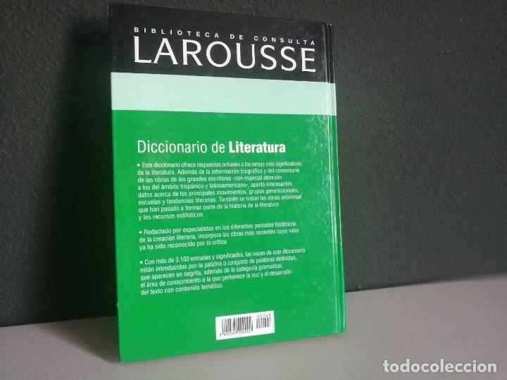 Libros: Diccionario de Literatura - Foto 2 - 218210408