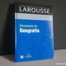 Libros: DICCIONARIO DE GEOGRAFÍA. Lote 218210492