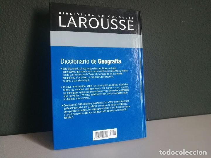 Libros: Diccionario de Geografía - Foto 2 - 218210492