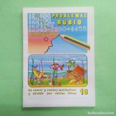 Libros: PROBLEMAS RUBIO Nº 18 - AÑO 1978 - SIN ESTRENAR. Lote 218736832