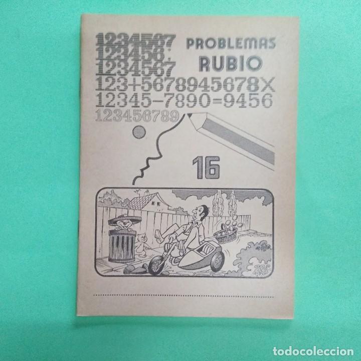 PROBLEMAS RUBIO Nº 16 - AÑO 1978 - SIN ESTRENAR (Libros Nuevos - Educación - Aprendizaje)