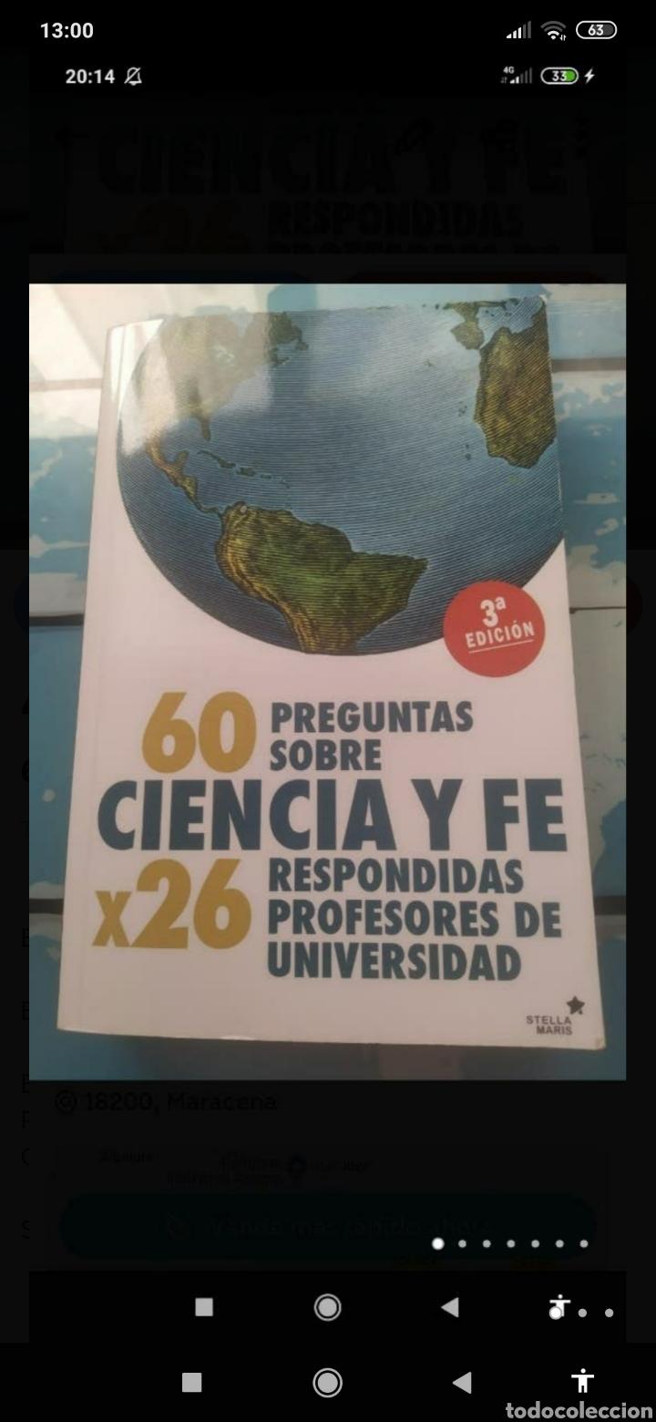 60 PREGUNTAS SOBRE CIENCIA Y FE RESPONDIDAS POR 26 PROFESORES DE UNIVERSIDAD (Libros Nuevos - Educación - Aprendizaje)