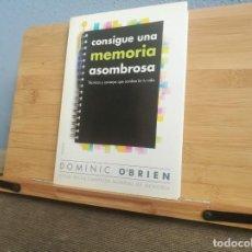 Libros: CONSIGUE UNA MEMORIA ASOMBROSA. Lote 219392353