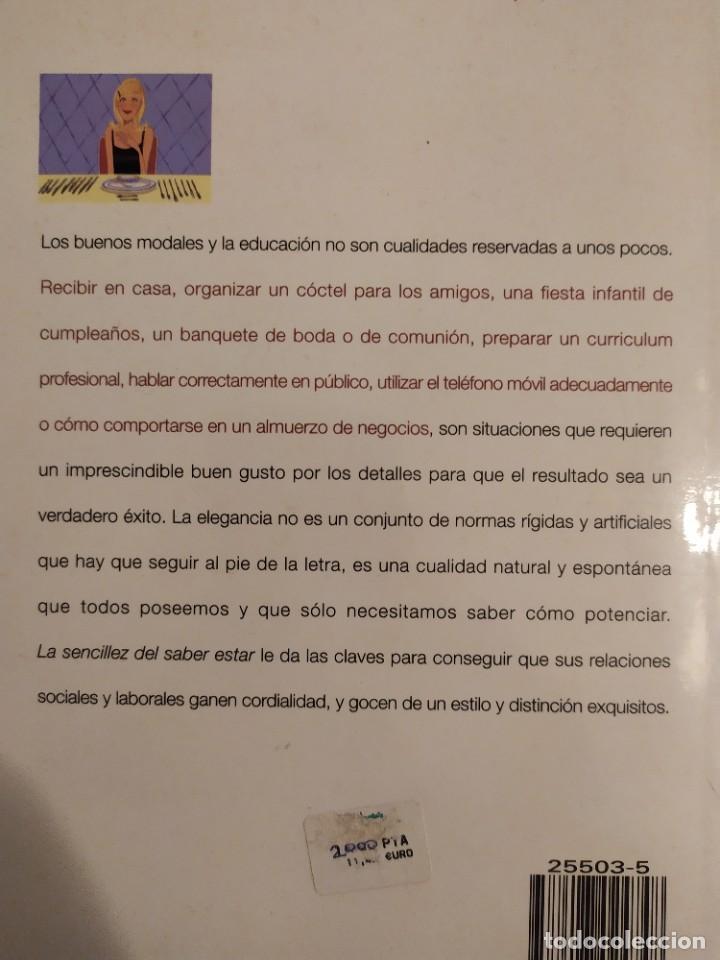 Libros: La sencillez del saber estar - Carlos Royo-Villanova - Foto 2 - 219749817