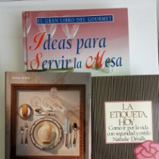 Libros: TRES LIBROS DE PROTOCOLO.. Lote 220950632
