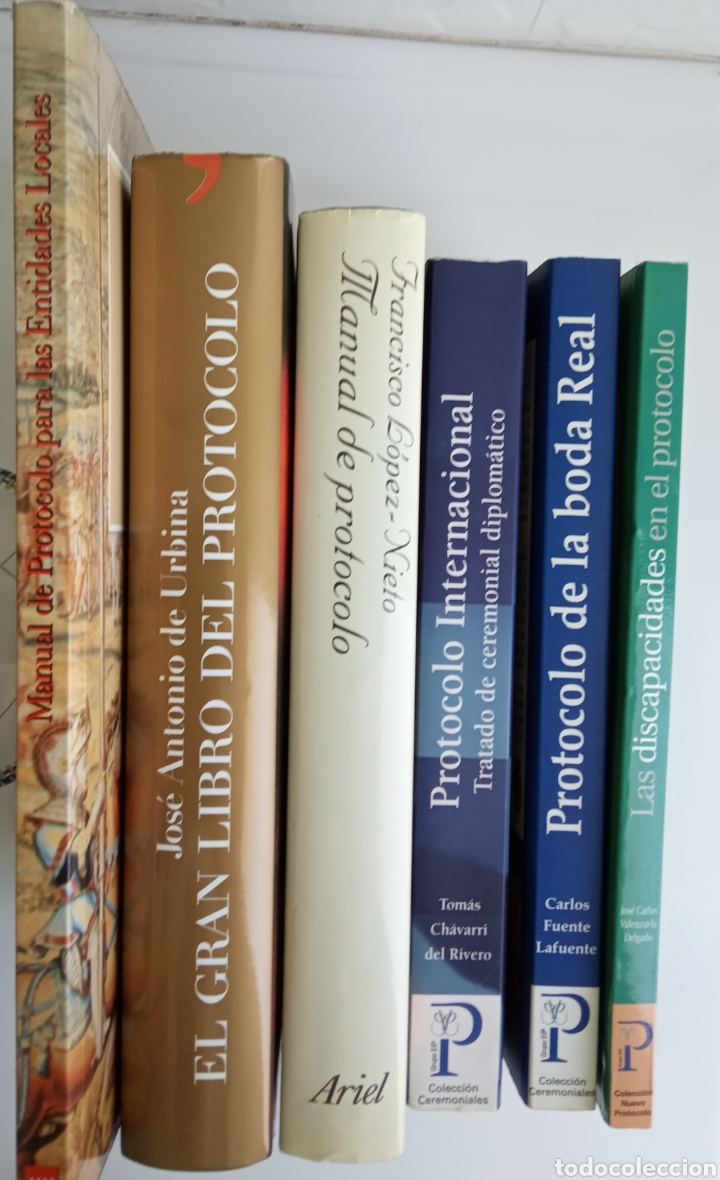 SEIS LIBROS DE PROTOCOLO (Libros Nuevos - Educación - Aprendizaje)