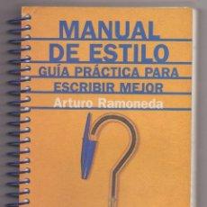 Livros: GUIA PRACTICA PARA ESCRIBIR MEJOR. Lote 221419895