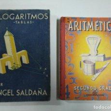 Libros: LOGARITMOS Y ARITMEDICA. Lote 221475222