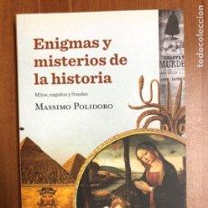 Libros: ENIGMAS Y MISTERIOS DE LA HISTORIA. EDITORIAL CRÍTICA NUEVO. Lote 222200035