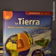 Libros: LA TIERRA (MARES Y OCÉANOS, CONTINENTES, UNIVERSO) - NGV. Lote 222511566