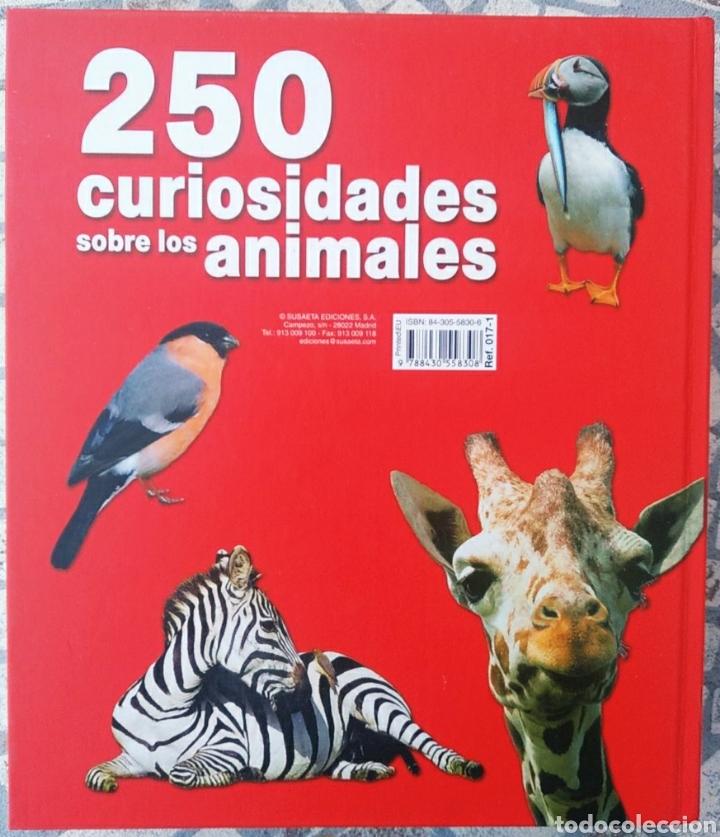 Libros: Libro, 250 curiosidades sobre los animales - Foto 6 - 222595533