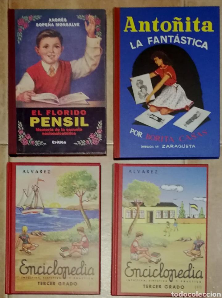 """LOTE """"EDUCACIÓN EN LA POSGUERRA"""" (Libros Nuevos - Educación - Aprendizaje)"""
