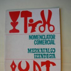 Libros: MERKATALGO IZENDEGIA / EUSKERA / FRANCÉS / ESPAÑOL /. Lote 225521490