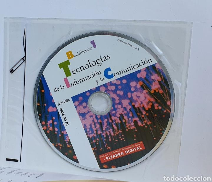 Libros: TECNOLOGÍA DE LA INFORMACIÓN Y LA COMUNICACIÓN ANAYA PRIMERO BACHILLERATO INCLUYE CD! - Foto 3 - 226024136
