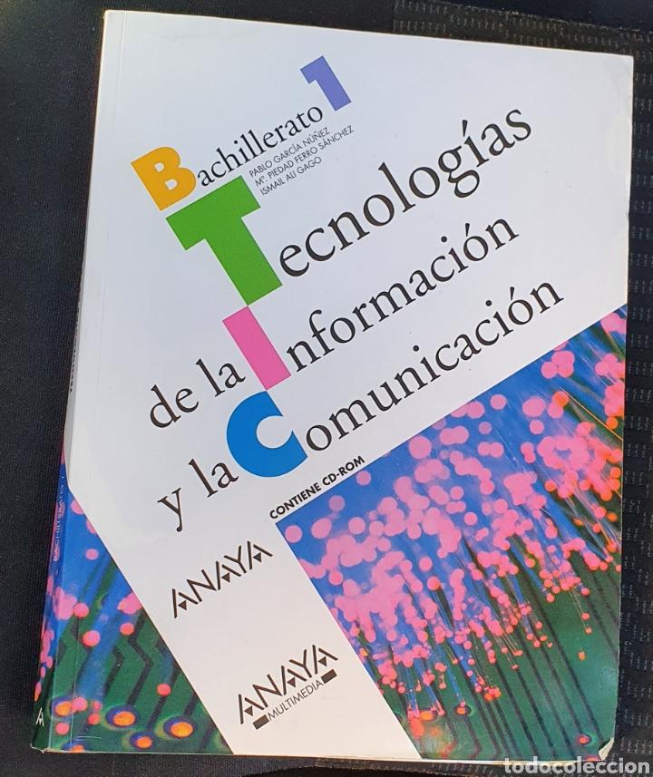 Libros: TECNOLOGÍA DE LA INFORMACIÓN Y LA COMUNICACIÓN ANAYA PRIMERO BACHILLERATO INCLUYE CD! - Foto 4 - 226024136