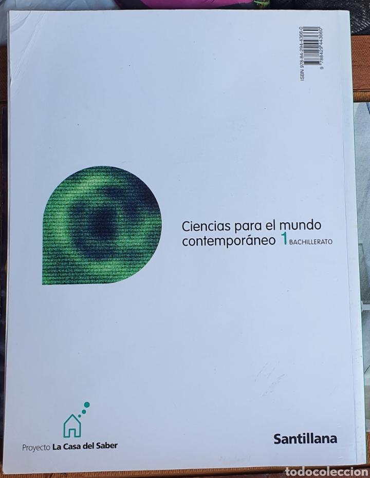 Libros: CIENCIAS PARA EL MUNDO CONTEMPORÁNEO 1 BACHILLERATO SANTILLANA - Foto 2 - 226025076