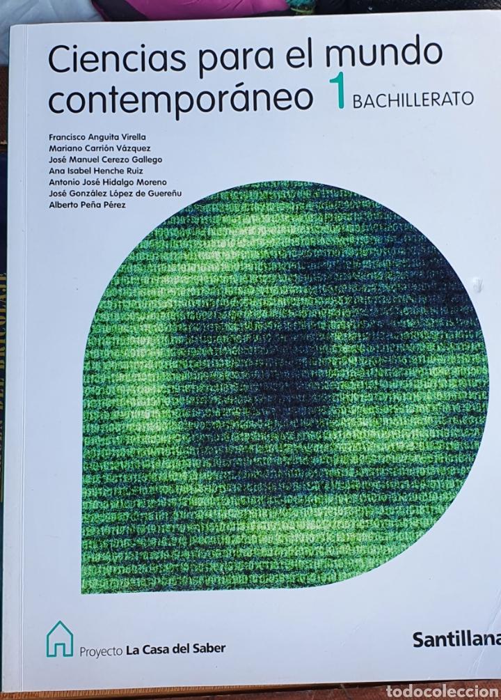 CIENCIAS PARA EL MUNDO CONTEMPORÁNEO 1 BACHILLERATO SANTILLANA (Libros Nuevos - Educación - Aprendizaje)