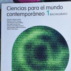 Libros: CIENCIAS PARA EL MUNDO CONTEMPORÁNEO 1 BACHILLERATO SANTILLANA. Lote 226025076
