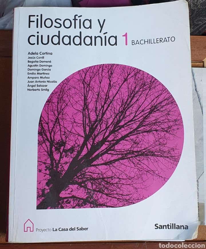 FILOSOFÍA Y CIUDADANÍA 1 BACHILLERATO (Libros Nuevos - Educación - Aprendizaje)