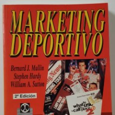 Libros: MARKETING DEPORTIVO MULLIN, BERNARD J. - PAIDOTRIBO, EDITORIAL - 2ª EDICION. Lote 226649700