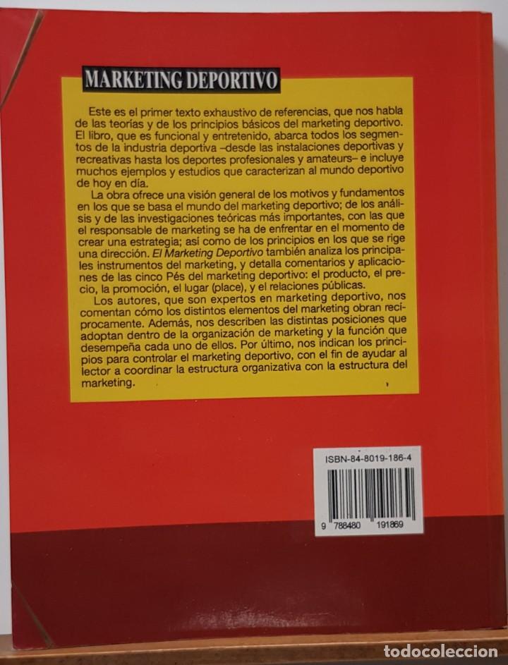 Libros: MARKETING DEPORTIVO MULLIN, BERNARD J. - PAIDOTRIBO, EDITORIAL - 2ª EDICION - Foto 2 - 226649700