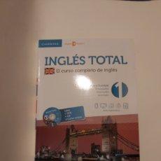 Libros: INGLÉS TOTAL N° 1 + DVD. Lote 228336055