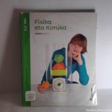 Libros: FISIKA ETA KIMIKA 2 DBH SANTILLANA. Lote 233687225