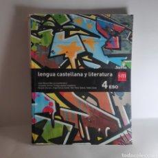 Libros: LENGUA CASTELLANA Y LITERATURA SM 4 ESO. Lote 233687610