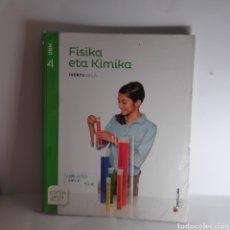 Libros: FISIKA ETA KIMIKA 4 DBH EUSKERA SANTILLANA. Lote 233697610