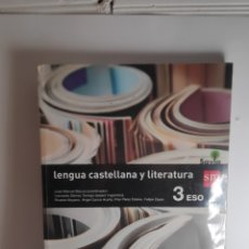 Libros: LENGUA CASTELLANA Y LITERATURA. 3 ESO. SM. Lote 233752350
