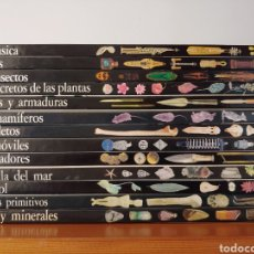 Livros: COLECCIÓN DE 13 LIBROS DE BIBLIOTECA VISUAL ALTEA. EN PERFECTO ESTADO!. Lote 234035010