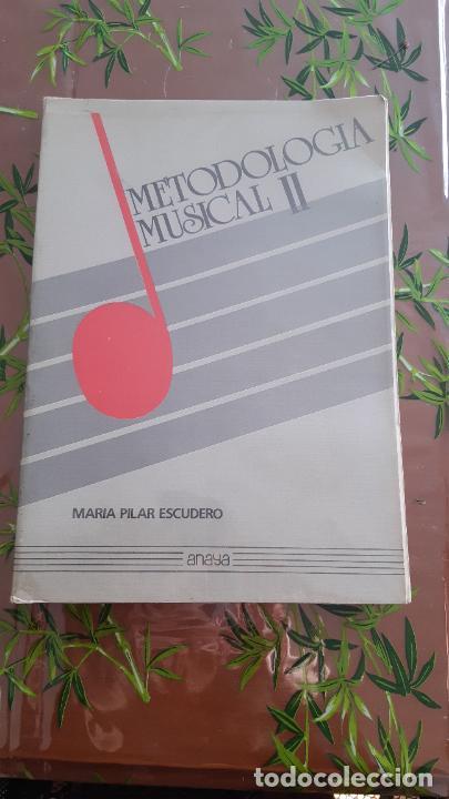 Libros: Metodología musical 1 y 2. María Pilar escudero, Anaya - Foto 3 - 235605490