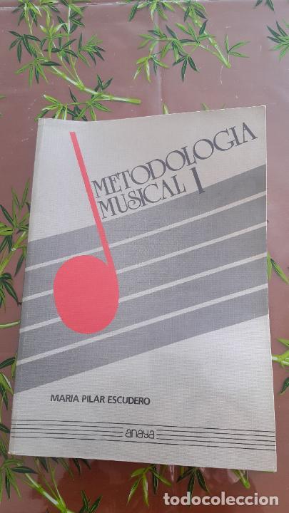 METODOLOGÍA MUSICAL 1 Y 2. MARÍA PILAR ESCUDERO, ANAYA (Libros Nuevos - Educación - Aprendizaje)