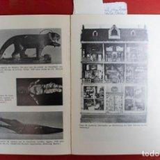 Libros: JOSE MARIA GORRIS / EL JUGUETE Y EL JUEGO.APROX.A LA Hª DEL JUGUETE Y A LA PSICILOGIA DEL JUEGO. Lote 236366470
