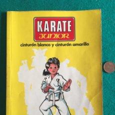 Libros: KARATE JUNIOR 1. CINTURÓN BLANCO Y CINTURÓN AMARILLO - AOKI, OSAMU; SÁENZ FERNÁNDEZ, FELIX. Lote 236418885