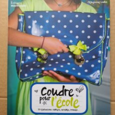 Libros: LIBRO COUDRE POUR L'ECOLE. Lote 236425150