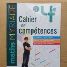 Libros: LIBRO MATCH-CAHIER DE COMPÉTENCES 4 CYCLE. Lote 236426365