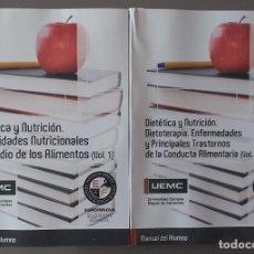 Libros: CURSO DE DIETÉTICA Y NUTRICIÓN. Lote 238750870